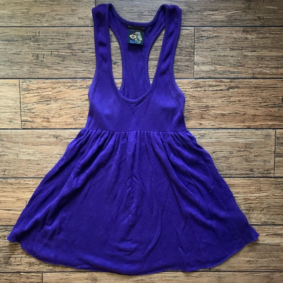 Free People Dresses & Skirts - Free People - Deep Plunge Tank Skater Dress